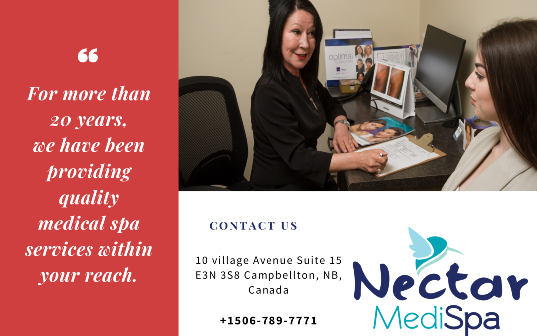 Nectar Medispa February 2021 Monthly Poster